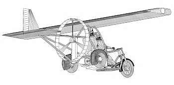 Trike plane