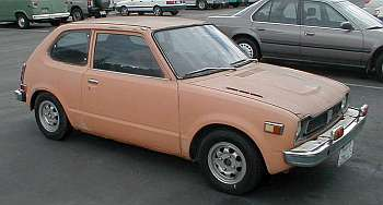 1974 Civic electric car conversion