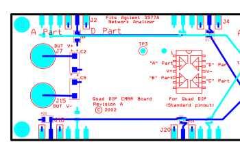 Quad DIP CMRR board
