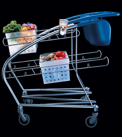 Build a goofy shopping cart and the media will beat a for Ideo company