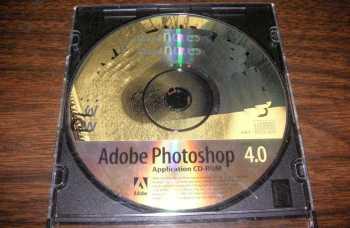 Adobe Photoshop 4.0 suffering