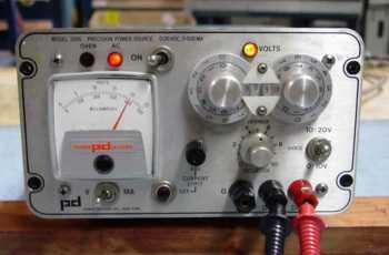 Power Designs model 2005 power supply