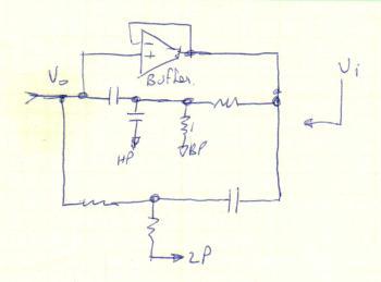 Simple multi-pass filter