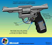 Microsoft's handgun